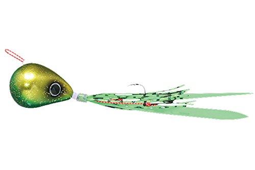 JACKALL(ジャッカル) ルアー 爆流 鉛式ビンビン玉スライド45g ラメグリキン/蛍光グリーンの商品画像