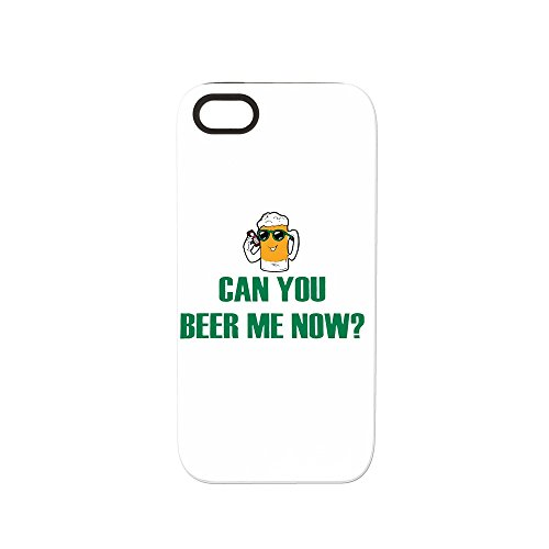 iPhone 5 or 5S Tough Rugged Case Can You Beer Me Now Beer Mug (Light Case Coors)