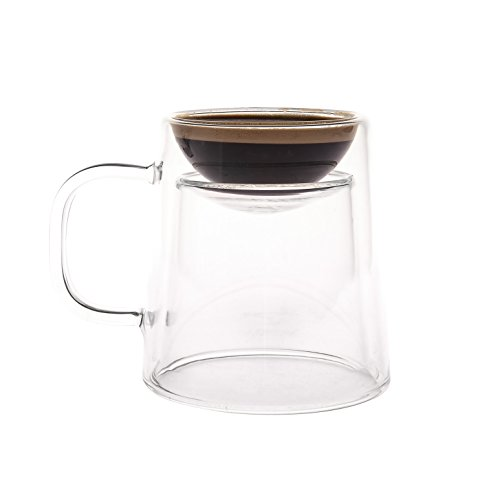Shot Coffee Mug (GAMAGO Double Shot Coffee/Espresso Mug,)