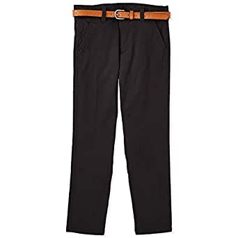 Iconic Straight Trousers for Boys - Black