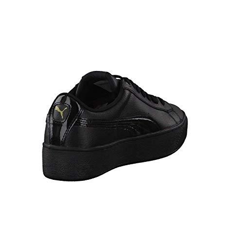 Gold Vikky Femme Puma Platform Lthr Chaussures metallic Black P qR1g18