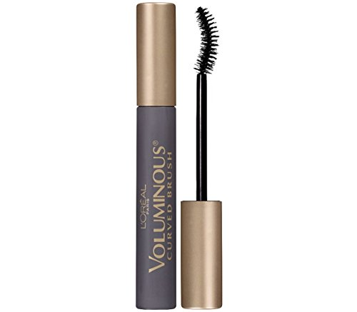 L'Oreal Paris Makeup Voluminous Original Volume Building Curved Brush Mascara, Black Brown, 0.28 fl. oz. (Best Mascara Primer Reviews)