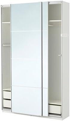 Ikea Pax Armario, Blanco, Auli Espejo Cristal 2382.81723.1412: Amazon.es: Juguetes y juegos