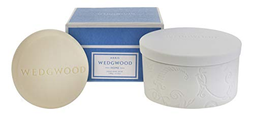 Wedgwood Luxury Bar Soap with Ceramic Dish - Arris 6.3 oz