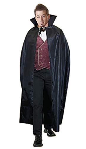 MA ONLINE Unisex Fancy Red Velvet Carded Cape Costume Adults Halloween Stag Party Outfit / 56 -