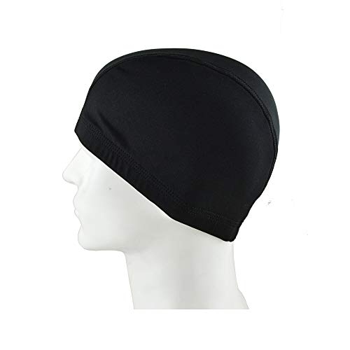 Lycra Skull Cap - 3 Pack Spandex Wig Caps For Men and Women, Ultra Stretch Dome Cap