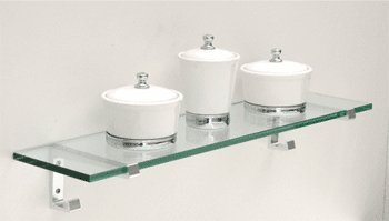 "Review CRL 6"" x 24"" Big Hook Glass Shelf Kit By C.R. Laurence by C.R. Laurence"