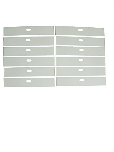12 ea VERTICAL BLIND INSERTS for Top Pocket on FABRIC VAN...