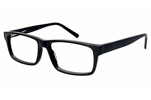Aristar by Charmant Eyeglasses AR18642 AR/18642 523 Mt Black Optical Frame 55mm