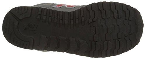 New Balance - Zapatillas para niños Grey/Red