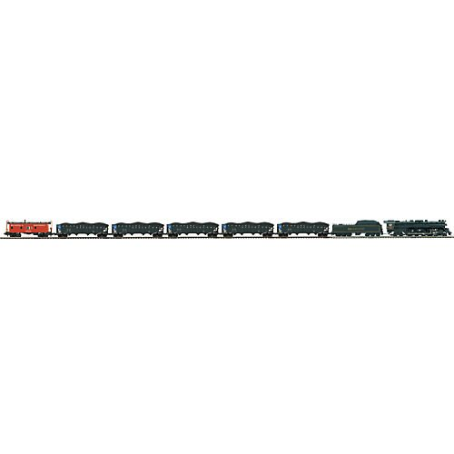 - MTH MTH2035491 O 4-8-4 T-1 Freight Set w/PS3, RDG/Blue Mountain