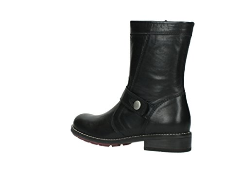 Wolky Boots leather 20000 black Mason Comfort 5rrq7xSY