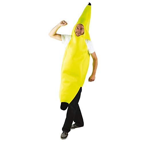 Ptit Clown 66767, Disfraz de Banana para Adulto, Amarillo, Talla ...