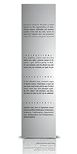VIRILESOUL Night Time Lotion - Natural Penile Health. For penile sensitivity, stronger, thicker and healthier penis skin. Tepezcohuite antibacterial & skin restoring healing properties. 1 BTL 4.2 OZ