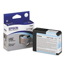 Epson T5805 UltraChrome K3 Light Cyan Cartridge Ink ()