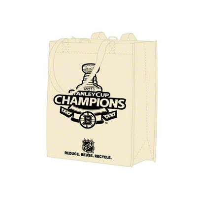 Forever Collectibles Boston Bruins 2011 NHL Stanley Cup Champions Printed Reusable Bag
