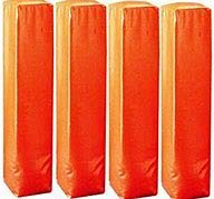 Weighted Football Corner Pylons (Set of 4)