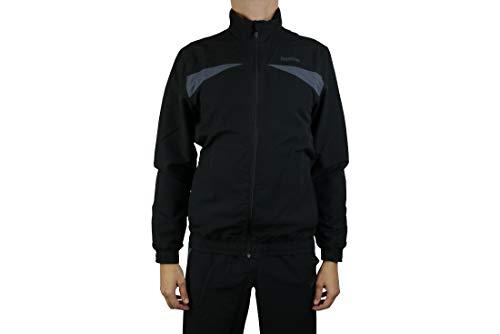 Reebok TS Woven Suit SLIM FIT Sports Suit Mens Tracksuit Black, Sizes:M