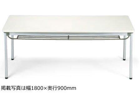 テーブル(幅180×奥行75cm)(粉体塗装脚)(棚付き)(ASS-1875)(MPL(M1)) B003ZK2NZM MPL(M1) MPL(M1)