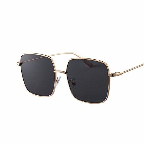 big Penh video de retro Phnom cuadradas estilo box delgadas hembra Negro marea XIAOGEGE Gafas gafas de Gafas Rosa sol vqOWwP4