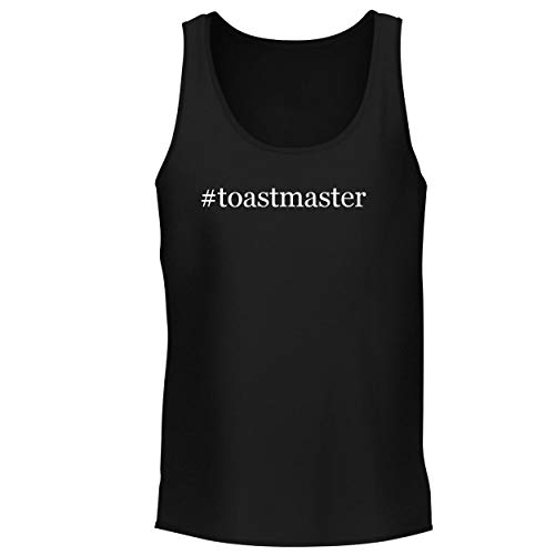 - BH Cool Designs #Toastmaster - Men's Graphic Tank Top, Black, Small