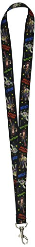 Disney Pixar Toy Story Woody and Buzz Lightyear Lanyard Badge -