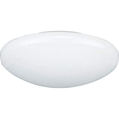 Progress Lighting P8025-60 Dome Shower for Insulated Ceilings Wet Location Listed 8-1/4-Inch Outside Diameter, White