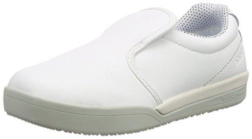 chef white Unisex San Adults' Loafers s2 White Weiß Slipper Sanita 1 Opqtzwz