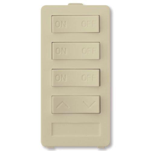 X10 Pro 4-Button Keypad (3-Address/1-Dimmer), Ivory by X-10 Pro -