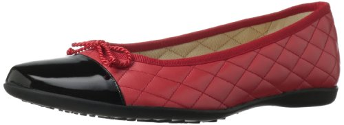 French Sole FS/NY Women's Passport Ballet Flat Red discount fashionable buy cheap deals find great cheap price wide range of cheap price brand new unisex for sale Nm1Coqm