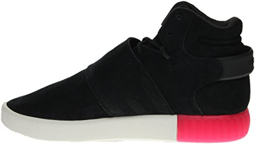 Adidas Originals Kvinders Rørformet Invader Rem W Mode Sneaker Sort / Sort-Lyserød zI154RR