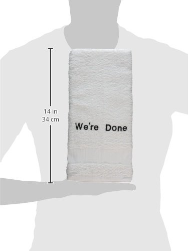 Were Done Embroid Towel