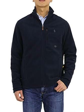 Ralph Lauren Polo Men's Performance Full Zip Fleece Jacket (XL, Navy)