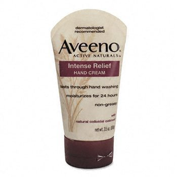 Active Naturals Intense Relief Hand Cream Aveeno 3.5 oz Crea