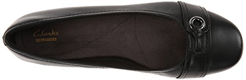 Women's Black Spire Propose Clarks Flat dWSF4dq