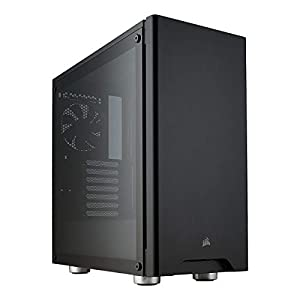 Corsair Carbide 275R Mid-Tower ATX Gaming Case, Tempered Glass- Black