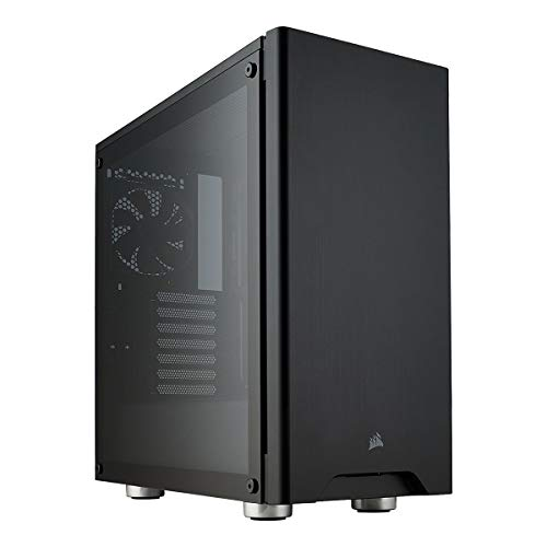 CORSAIR CARBIDE 275R Mid-Tower Gaming Case, Tempered Glass- Black (CC-9011132-WW) (Best Mid Tower Gaming Case)