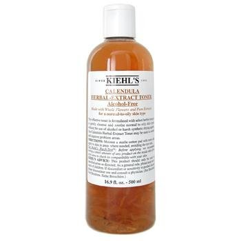 Calendula Herbal Extract Alcohol-Free Toner ( Normal to Oil Skin ) 500ml/16.9oz