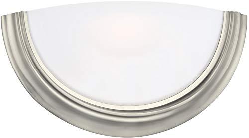 Ada Wall Light - Sea Gull Lighting 4135EN3-962 One Light Wall/Bath Sconce Brushed Nickel