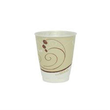 Trophy Foam (SOLO Cup Company Symphony Design Trophy Foam Hot/Cold Drink Cups, 8oz, Beige, 1000/Carton)