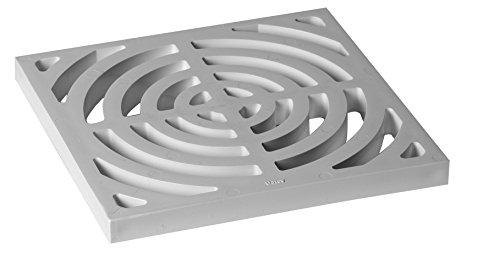 Oatey 42753 Full Top Grate for Floor Sink (Bottom 4in Grid)