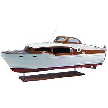 1954 Chris Craft Commander Express Cruiser Wooden Boat Kit by Dumas