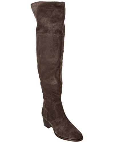 Smoke Leather Boot Women's OTK Oiled Slouch FRYE Suede Clara wqYtZAp