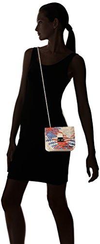 Silvian Heach Ovaro, Borsa a Tracolla Donna, 8x15x18 cm (W x H x L) Multicolore
