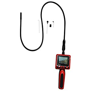 "Vividia 9mm Portable Digital Flexible Inspection Camera with 2.4"" LCD Monitor"