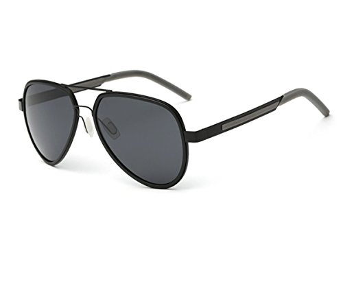 Konalla Classic Polarized Double Frame UV Protective Avaitor Sunglasses - Sunglasses Maden Steve