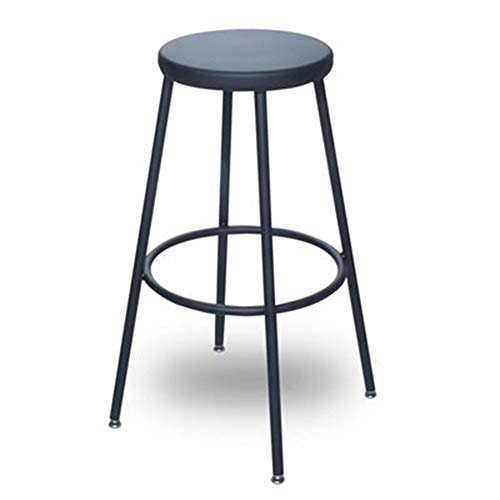 BioFit AJ24-WS-06 Wood Seat Fixed Lab Stool, 24