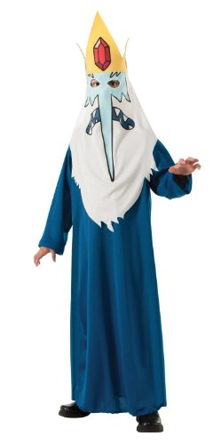 Kids Exclusive Costumes (Adventure Time Child's Ice King Costume, Small)