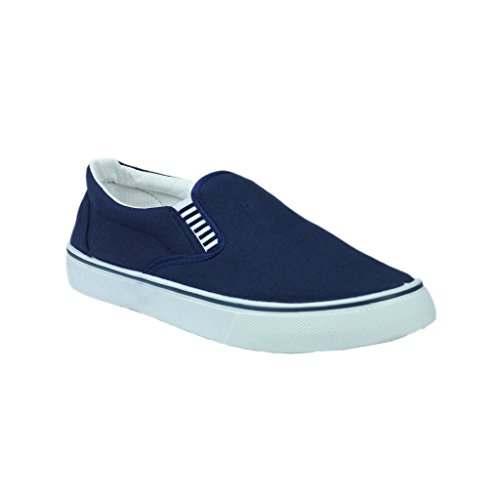 Mirak Yachtmaster Twin Gousset Slip-on Chaussures Pour Hommes (13 Us) (marine)