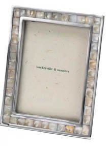 mother of pearl mosaic frame 7x5 ideal 30th wedding anniversary photo frame